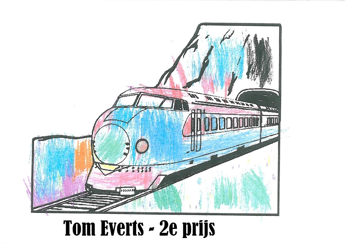 Tom Everts 2e prijs